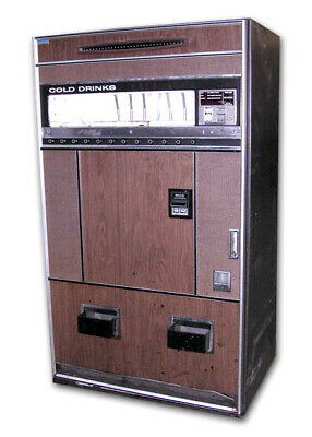 Refrigerated Vending Machine - Vendo Model CD-7/5 parts only