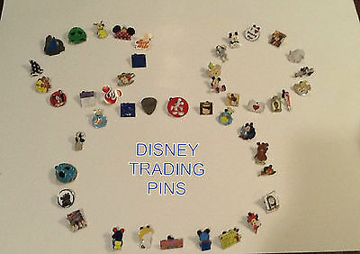 DISNEY TRADING PINS -NO DOUBLES-LOT OF 50  -FREE SHIPPING -AWESOME DEAL