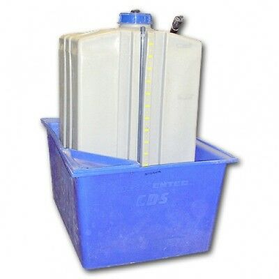 Square 120 Gallon Storage Tank w Containment Tank