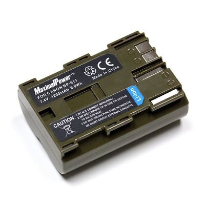 For Canon BP511 BP-511 BATTERY EOS 20D 40D 50D 300D FVM10 MVXli ZR90 PowerShot
