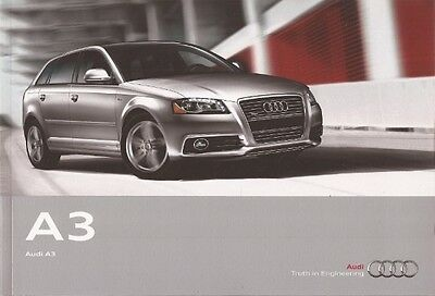 2012 12 Audi  A3 original sales  brochure  MINT