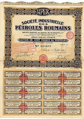 Societe Industrielle Des Petroles Roumains