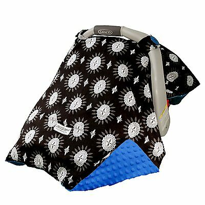 "CARSEAT CANOPY BABY CAR SEAT CANOPY COVER BLANKET COTTON BRAND NEW "" MADDOX """