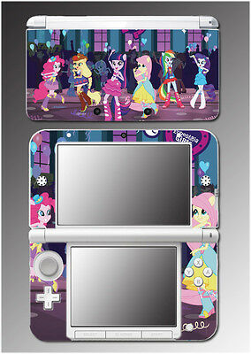 My Little Pony Equestria Girls High School Video Game Skin for Nintendo 3DS XL