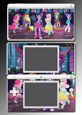 My Little Pony Equestria Girls High School Game Skin Cover Nintendo DS Lite