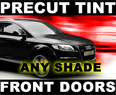 Front Window Film for Dodge Ram Quad (Smaller Cab Type) 09-2013 Any Tint Shade