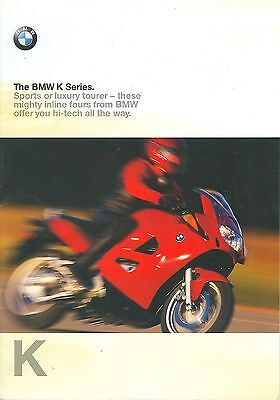 1998 Bmw K-Series Brochure