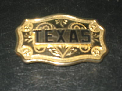 western belt buckle TEXAS collectable made in USA