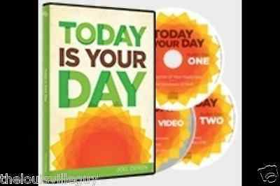 "Joel Osteen - ""Today Is Your Day"" 2 CD/1 DVD Set - Great and Amazing Series!"