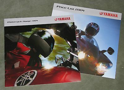 2004 Yamaha Range Sales Booklet & Price List