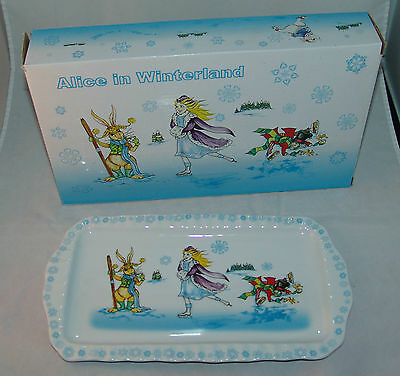 "CARDEW ""ALICE in  WINTERLAND""  COOKIE TRAY"
