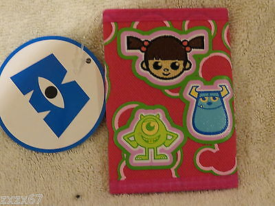 New Monsters Inc Tri-Fold Wallet Party Favors Supplies