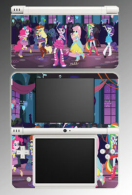 My Little Pony Equestria Girls High School Video Game Skin Cover Nintendo DSi XL