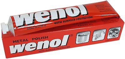 Wenol Metal Polish 100ml Tube - You will be amazed!