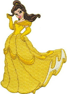 Walt Disney's Beauty and the Beast Belle Standing Embroidered Patch, NEW UNUSED