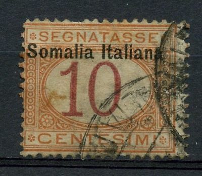 Somalia 1909 SG#D29 10c Postage Due Used Cat £21#A41952