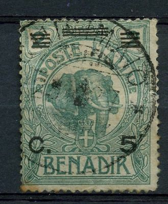 Somalia 1926 SG#69 5c On 2b Elephant Used Cat £55 #A41910