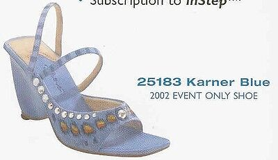 "Just The Right Shoe, ""KARNER BLUE"", 2002 Event Shoe"