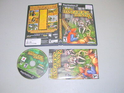 CABELA'S DANGEROUS HUNTS 2 (Playstation 2 PS2) Complete