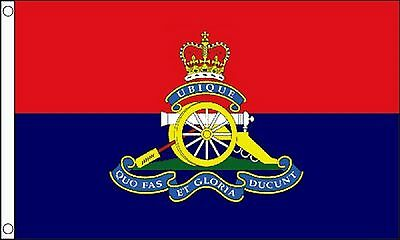 British Army Royal Artillery Regiment 5'x3' Flag
