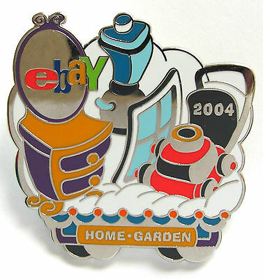 eBay Live 2004 Pin HOME & GARDEN Category PIN New (Promo Giveaway Item)