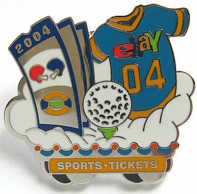 eBay Live 2004 Pin SPORTS & TICKETS Category PIN New (Promo Giveaway Item)