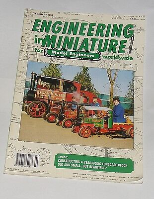 Engineering In Miniature February 1998 - Old And Small, But Beautiful
