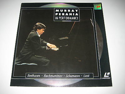 Laserdisc/sony Slv 45987/murray Perahia In Performance