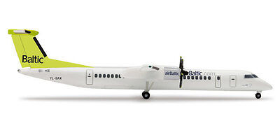 Herpa 523936 Air Baltic Airlines Bombardier Q400 1:500 Scale Diecast Mint in Box