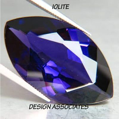 Iolite Marquise Cut 6X3 Mm 3 Pc Set All  Natural Aaa