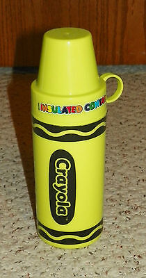 Crayola Crayon Insulated Thermal / Container - 11.5 oz - Lime Green