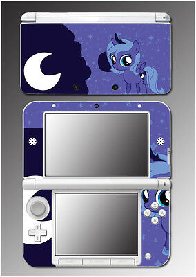 My Little Pony Princess Luna Nightmare Moon Video Game Skin for Nintendo 3DS XL