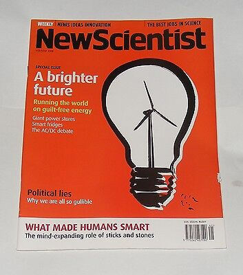 New Scientist Magazine 11Th October 2008 - A Brighter Future
