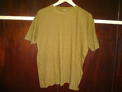 Zahal Idf Golani  Field T Shirt Israel Defense Forces Army Military OD Israeli