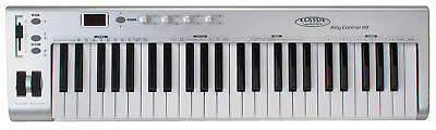 49 TASTEN MIDI KEYBOARD CONTROLLER HOME STUDIO MASTERKEYBOARD PC MAC iPAD USB