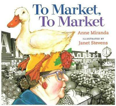 To Market, to Market by Anne Miranda Paperback Book (English)
