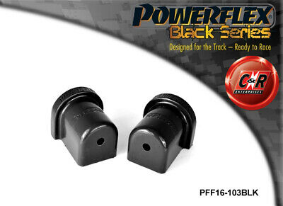 Fiat Cinquecento Powerflex Black Front Wishbone Rear Inner Bushes PFF16-103BLK