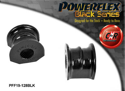 Ford Sierra All Non-Cosworth Powerflex Black Fr ARB Mnt Bushes 28mm PFF19-128BLK