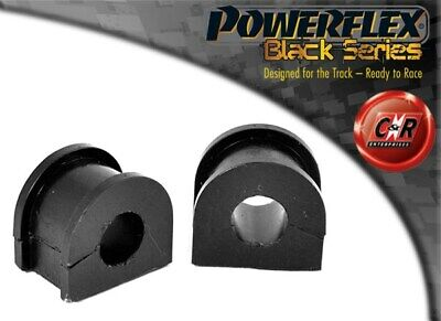 Saab 9000 (85-98) Powerflex Black Rear Anti Roll Bar Bushes 18mm PFR66-107-18BLK