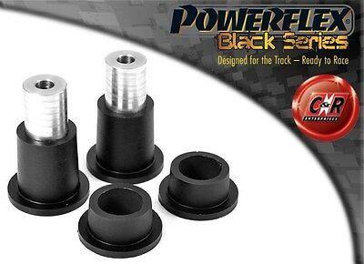 Porsche 944 S2 85-91 Powerflex Black Rear Axle Carrier Outer Mounts PFR57-220BLK