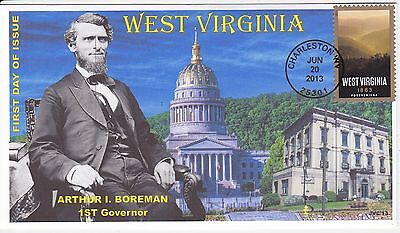 Jvc Cachets - 2013  West Virginia Statehood  Issue First Day Cover Fdc #3