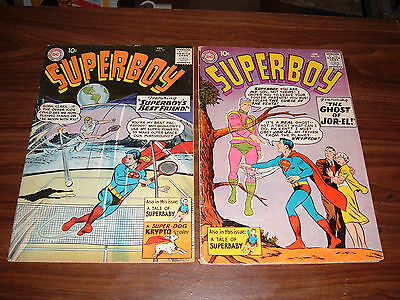 Superboy 77-152-- several in better condition--total of 48 issues