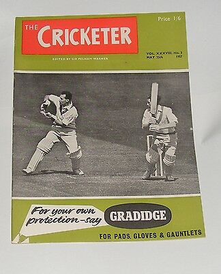 The Cricketer Magazine May 25Th 1957 - Test Matches At Edgbaston