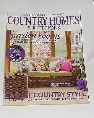Country Homes & Interiors May 2009 - Garden Rooms/casual Country Style