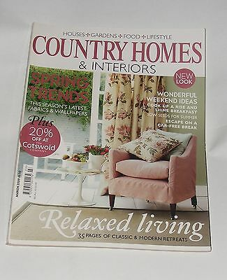 Country Homes & Interiors March 2009 - Spring Trends/relaxed Living