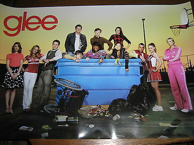 GLEE original import poster - Cast - Exc.+ New cond.
