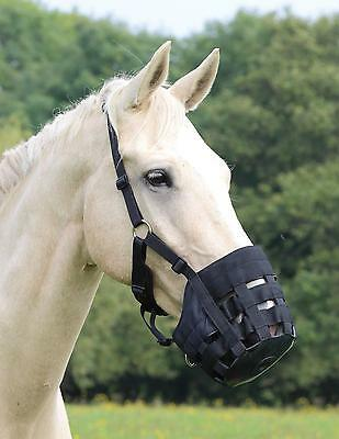 Shires Nylon Grazing Muzzle (New Improved Design)