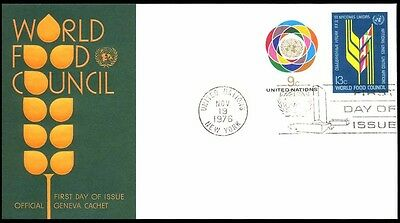 1976 UNITED NATION FOOD COUNCIL COVER 192