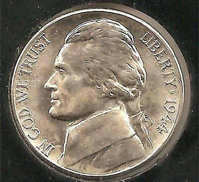 1944-D CHOICE ABOUT UNCIRCULATED Jefferson Nickel #2