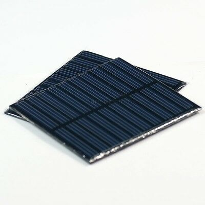 2pcs 2X 5V, 150mA 750mW 1.5Watts 1.5W Total Solar Panel Power Cell For Charger
